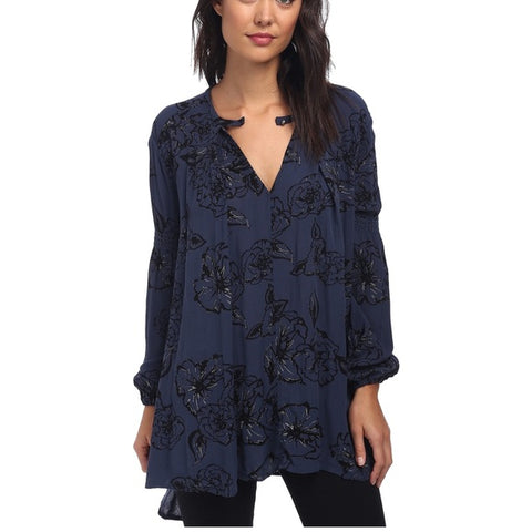 Free People Snap Out of It Tunic Sz: S