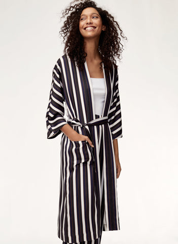 Wilfred Striped Durante Jacket Sz: XS