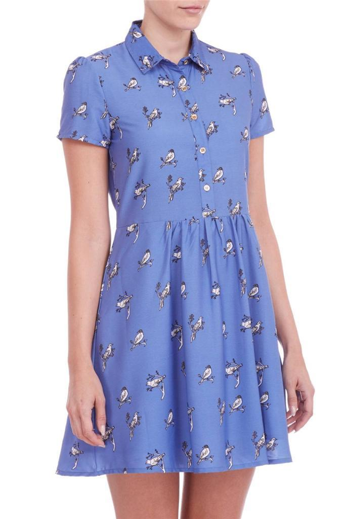 Sugarhill Bird Dress Sz:4