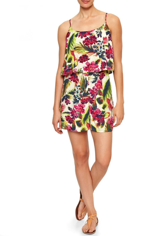 Gap Tropical Printed Romper Sz: S