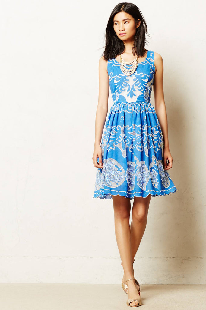 Tracy Reese Azure dress 2