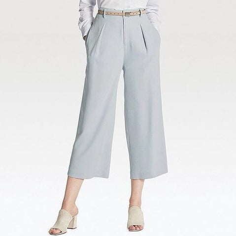 UNIQLO Pleated Ankle Pants Sz:12