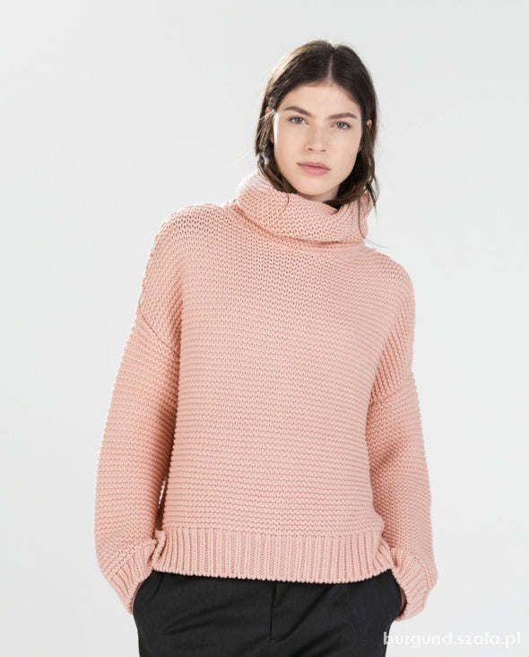 Zara Roll Neck Sweater Sz: S