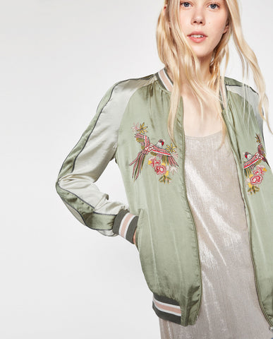 Zara 'Dreamers' Bomber Small