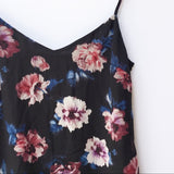 Zara TRF Floral Slip Dress Sz: M