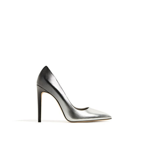 Zara Metallic Pumps Sz: 36