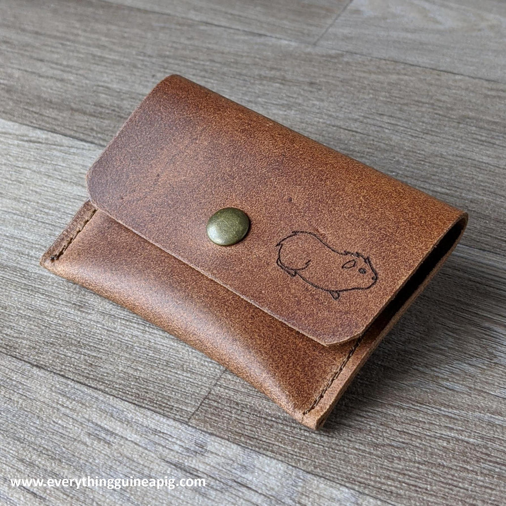 *BACK IN STOCK* - GUINEA PIG THEMED LEATHER GIFTS
