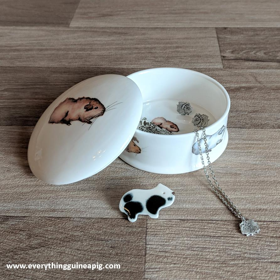 *BACK IN STOCK* - GUINEA PIG THEMED MUGS, JUGS AND TRINKET BOXES