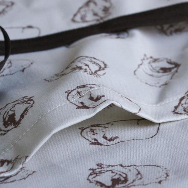 Guinea Pig Adult Apron - Sketched Guinea Pig Design - Everything Guinea Pig