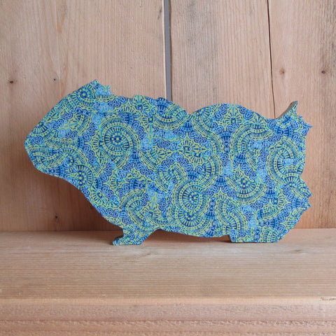 Blue Decopatch Guinea Pig Craft Kit