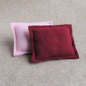 Piggy Pillow Set - Pink/Cerise - Everything Guinea Pig