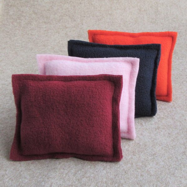 Piggy Pillow Set - Pink/Burgundy - Everything Guinea Pig