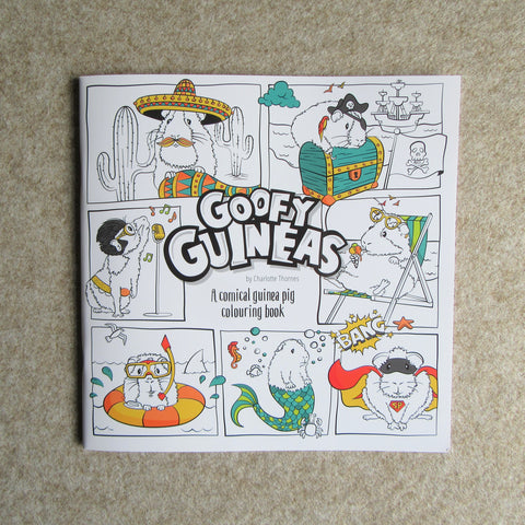 Guinea Pig Colouring Book - Everything Guinea Pig