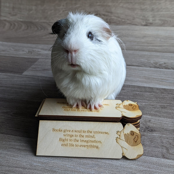 Guinea Pig Book Mark (Flat)