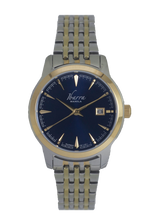 Load image into Gallery viewer, RIVERA 29MM QUARTZ TWO-TONE GOLD WATCH (BLUE DIAL)