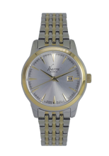 Load image into Gallery viewer, RIVERA 29MM QUARTZ TWO-TONE GOLD WATCH (SILVER DIAL)