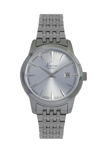 RIVERA 29MM QUARTZ STEEL WATCH (SILVER DIAL)
