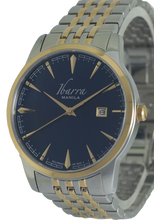 Load image into Gallery viewer, RIZAL 39MM QUARTZ TWO-TONE GOLD WATCH (BLUE DIAL)
