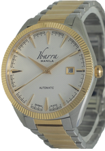 Load image into Gallery viewer, RIZAL 40MM AUTOMATIC TWO-TONE GOLD WATCH (WHITE DIAL)