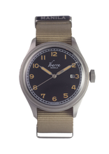 Load image into Gallery viewer, SOLDADO AUTOMATIC FIELD WATCH (BLACK DIAL)