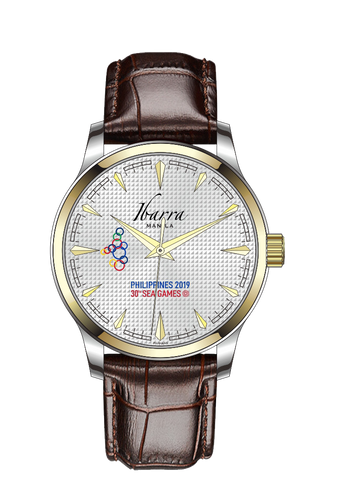[PRE-ORDER] 30th SEA Games Commemorative Two-Tone Gold Dress Watch
