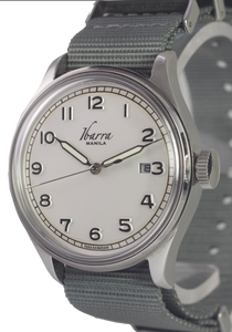 SOLDADO AUTOMATIC FIELD WATCH (WHITE DIAL)