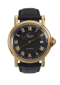 MARIANO (BLACK) 38MM AUTOMATIC DRESS WATCH