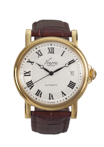 MARIANO (GOLD) 38MM AUTOMATIC DRESS WATCH