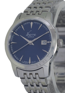 RIVERA 29MM QUARTZ STEEL WATCH (BLUE DIAL)