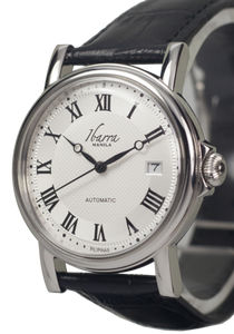 MARIANO (STEEL) 38MM AUTOMATIC DRESS WATCH