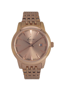 RIVERA 29MM QUARTZ ROSE GOLD WATCH
