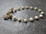 Freshwater Pearl Sweater Clip Chain