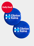 The Clinton-Kaine Button Combo