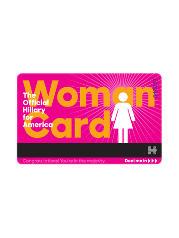 "The Official  ""Woman Card"""