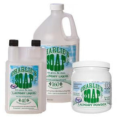 Charlie's Soap Laundry Detergent - 3 sizes - liquid and powder