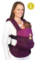 Lillebaby Complete Carrier, Position 1 Fetal Position