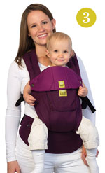 Lillebaby Complete Baby Carrier - Front Face Out Position