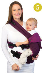 Lillebaby Complete Baby Carrier - Hip Position