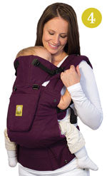 Lillebaby Complete Baby Carrier - Toddler Front Face In Position
