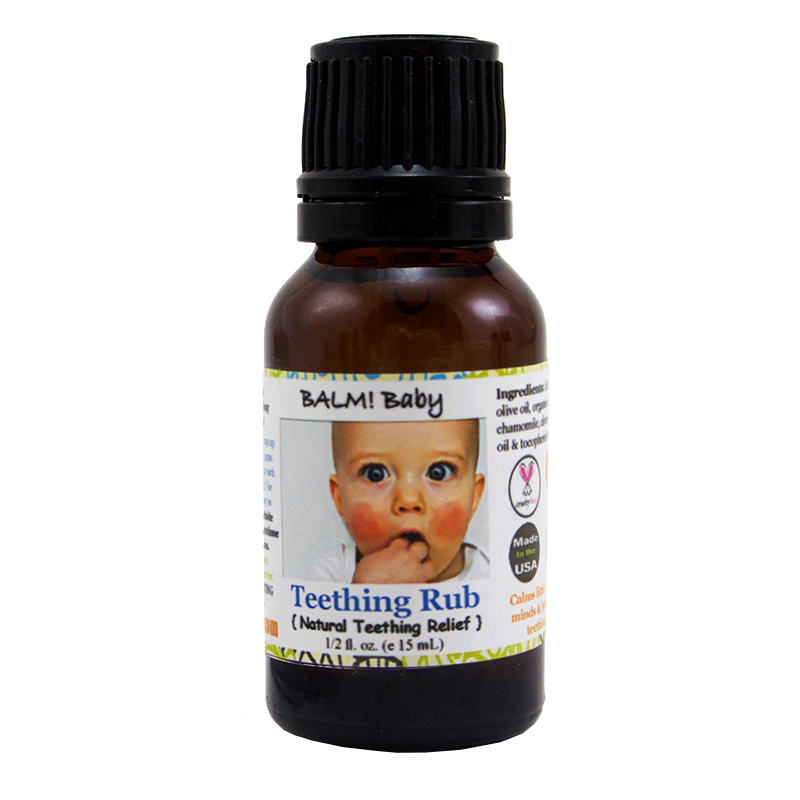 Balm Baby Teething Rub - Made in the USA