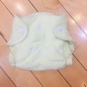 Imagine Newborn Bamboo Fitted Diapers, 12-Pack, Gently Used
