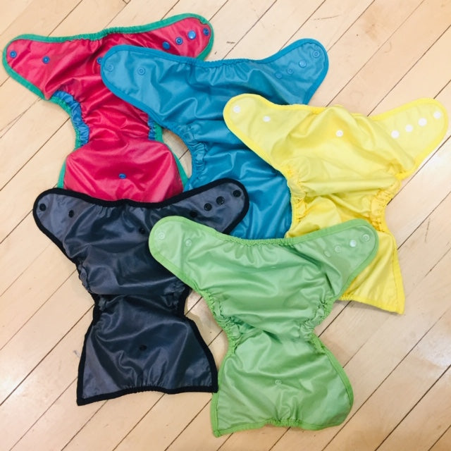 Best Bottom One-Size Shells, 5-Pack, Gently Used