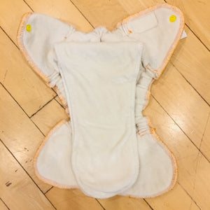 TEENIE Twinkie Tush Fusion Fitted Diaper, Gently Used