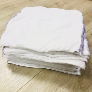 Osocozy Stay-Dry Prefolds, 20-pack, Gently Used