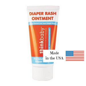 ThinkBaby New Diaper Rash Cream is safe, effective, and made in the USA