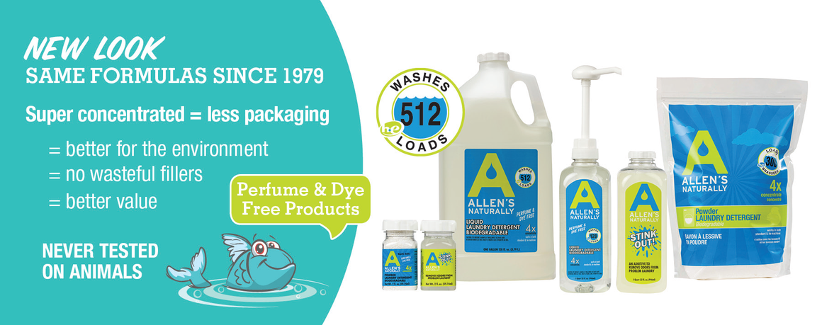Allen's Naturally Laundry Detergent