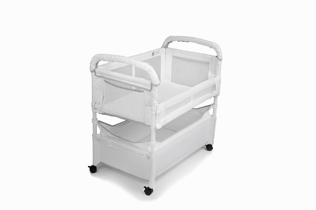 Arm/'s Reach Clear-Vue Baby Co-Sleeper Bedside Bassinet Natural NEW