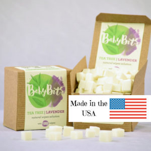Baby Bits Wipes Solution - Great for Cloth Wipes