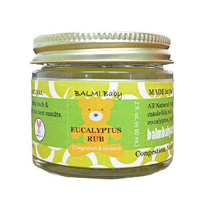 Balm Baby Eucalyptus Rub for Nasal & Chest Congestion Relief - Made in the USA logo