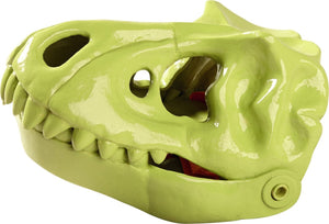 Haba Dinosaur Sand Glove with mouth open